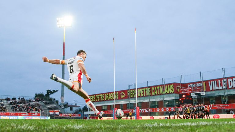 The situation in France will impact Catalans Dragons' ability to travel for re-arranged Super League matches