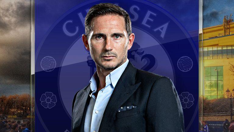Frank Lampard reemplazó a Maurizio Sarri en el verano.