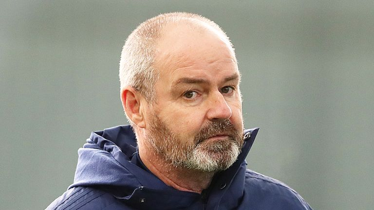 Scotland manager Steve Clarke will take a 10 per cent pay cut