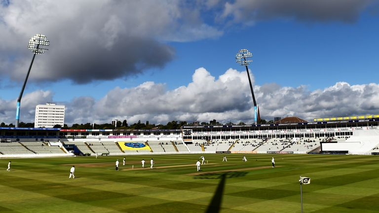 Edgbaston will stage training and is also a contingency venue for the Test series