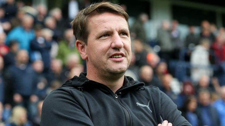 Daniel Stendel has flown to Germany to be with his family during the Scottish Premiership suspension