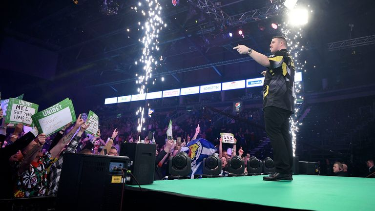 Belfast has been a popular stop for the tournament in recent years