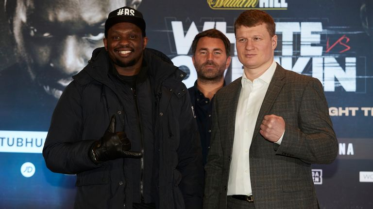 Whyte risks his status as WBC interim champion and mandatory challenger by facing Povetkin