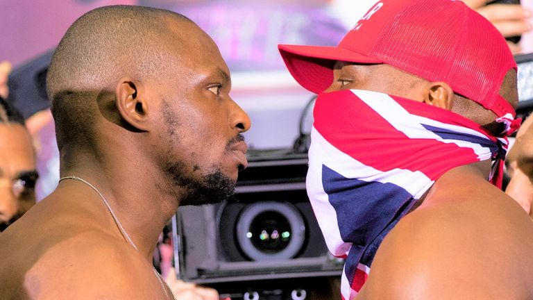 Dillian Whyte twice faced his British rival Chisora