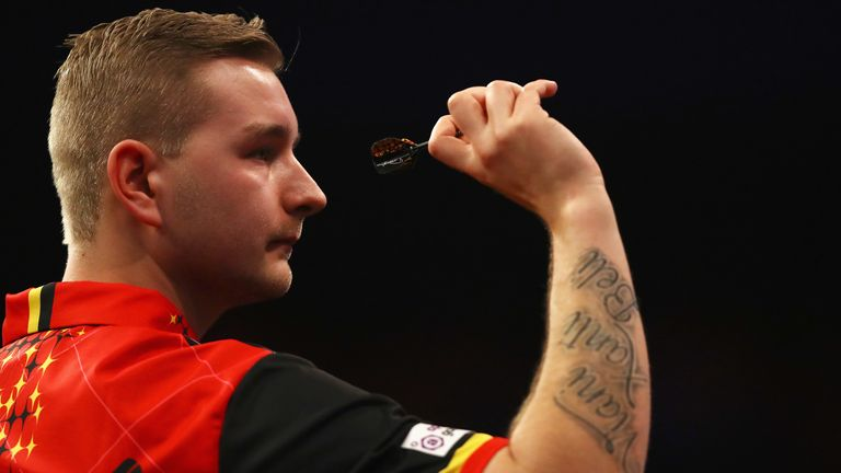 Dimitri Van den Bergh made it to the quarter-finals of the 2019/20 World Championship