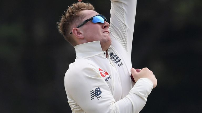 England spinner Dom Bess went wicketless on day one of the second Virtual Test