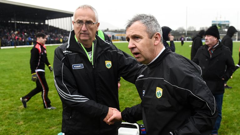 Buckley had been part of Keane's backroom team since the Cahirciveen native took charge in October 2018