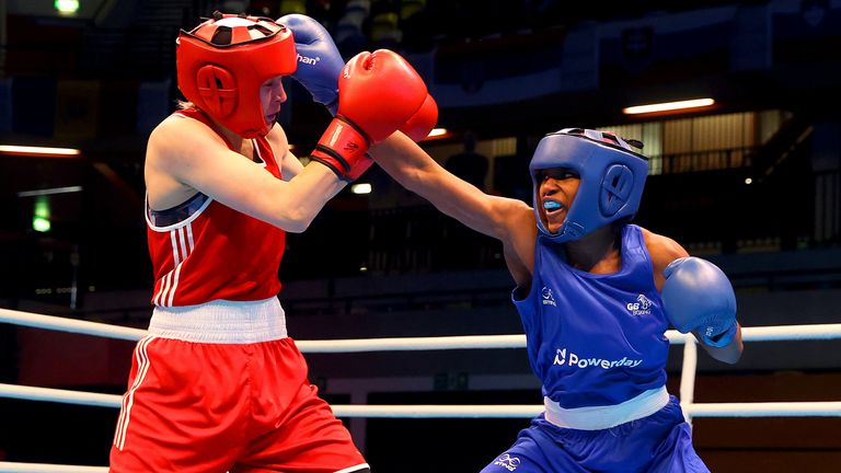 Caroline Dubois is sister of British heavyweight champion Daniel