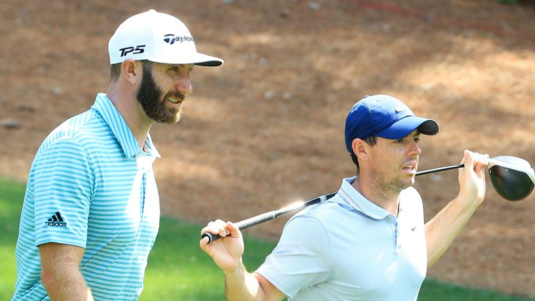 Dustin Johnson also features in the Florida fundraiser