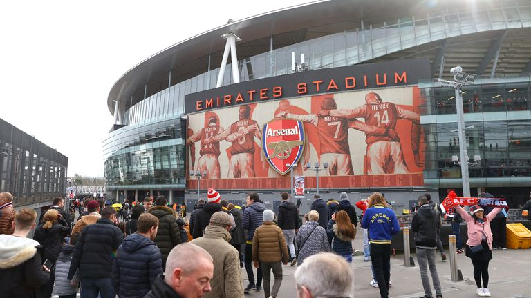 Arsenal are seeking ways of helping the Islington community during the pandemic