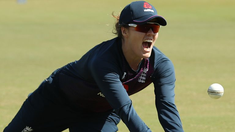 England's Nat Sciver made 202 runs during the T20 Women's World Cup