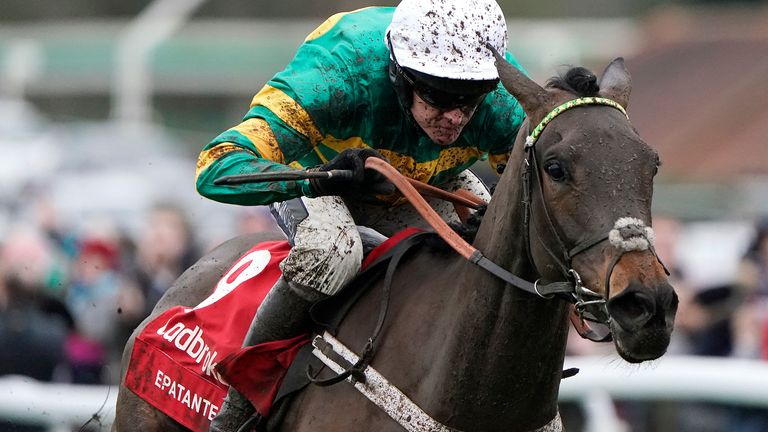 Epatante starred in the Christmas Hurdle and beat a few of Tuesday's rivals