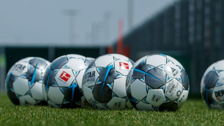 Squads from Bundesliga sides in Bavaria are still permitted to train at club training grounds