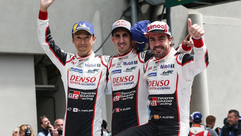 Last year's race was won by Toyota and a car shared by double Formula One world champion Fernando Alonso