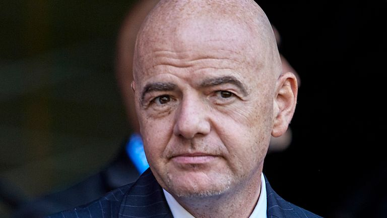 FIFA President Gianni Infantino was surprised by UEFA's block voting decision