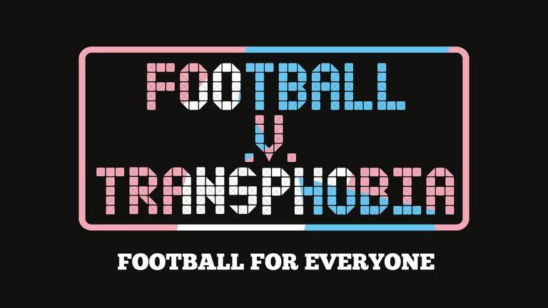 Football v Transphobia logo