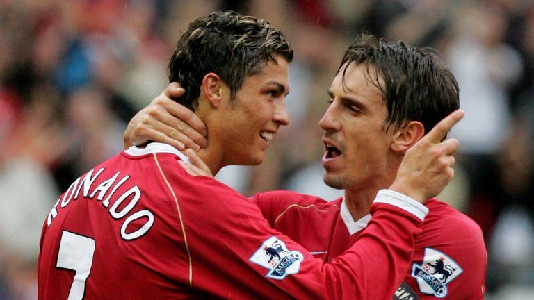 Neville and Ronaldo
