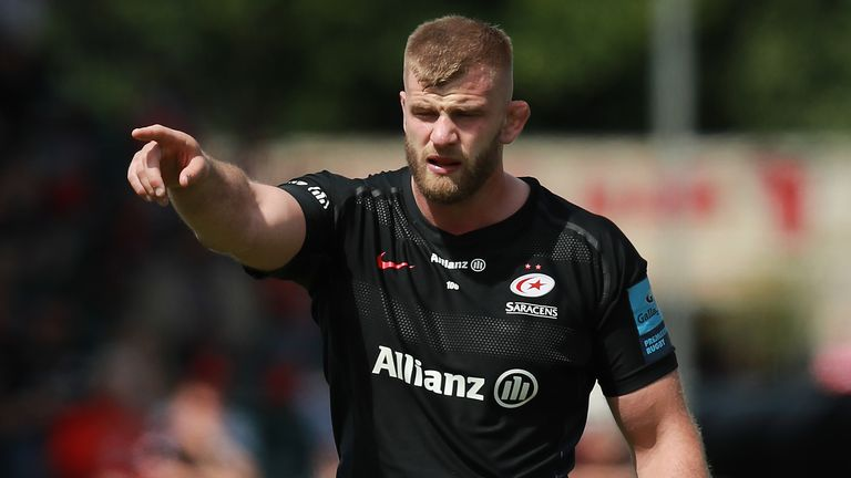 George Kruis is undecided about whether to remain with Saracens