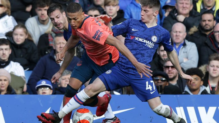Gilmour looked far from out of place as he helped Chelsea to a comfortable win