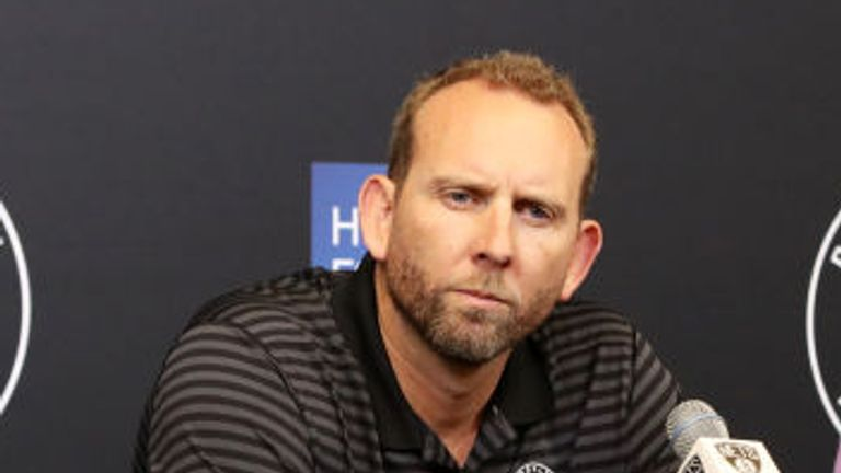 General Manager, Sean Marks of the Brooklyn Nets