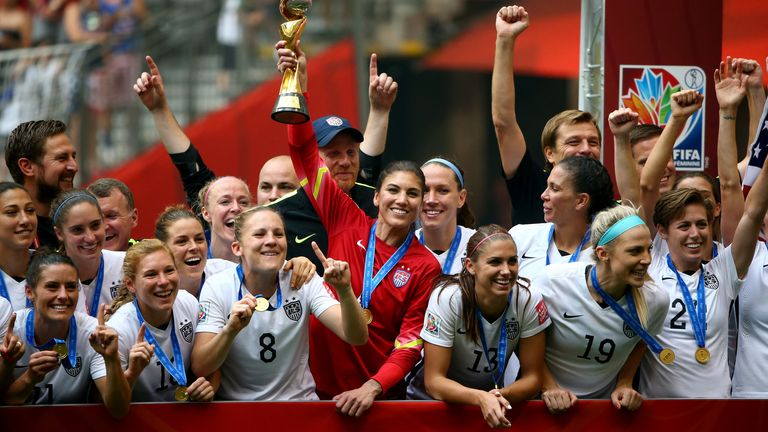 FIFA Women's World Cup Canada 2015 Final at BC Place Stadium on July 5, 2015 in Vancouver, Canada.
