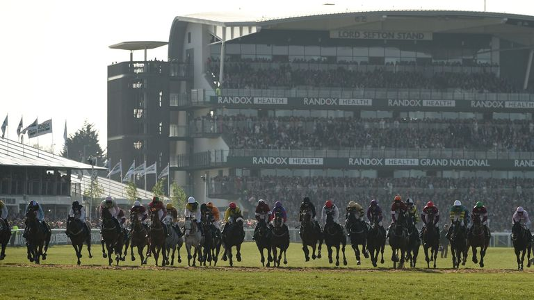 The Grand National was scheduled to take place on April 4 at Aintree Racecourse