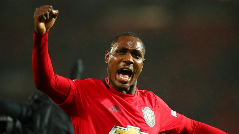Ighalo has scored four  goals in eight games for United