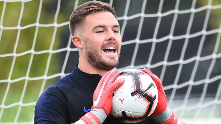 Could England goalkeeper Jack Butland leave Stoke City this summer?