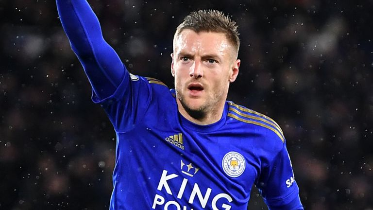 Jamie Vardy was back among the goals as Leicester thrashed Aston Villa on Monday Night Football