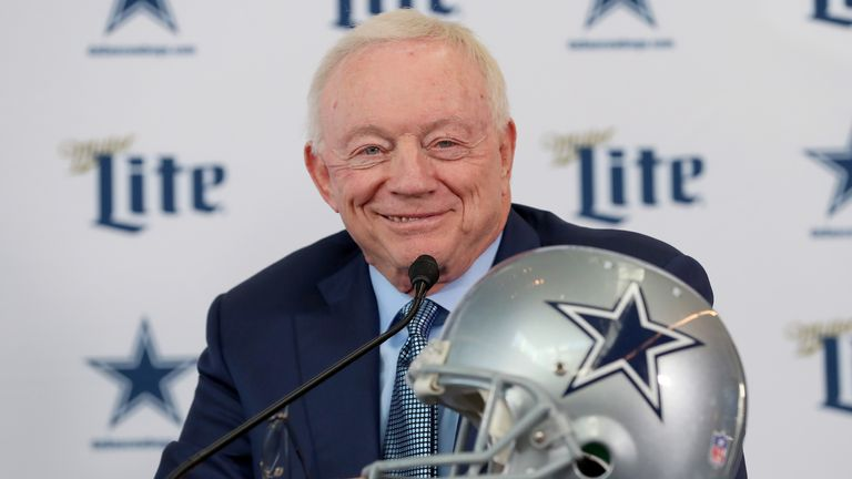 Dallas Cowboys owner Jerry Jones was adamant his players should not 'disrespect the flag' of the United States