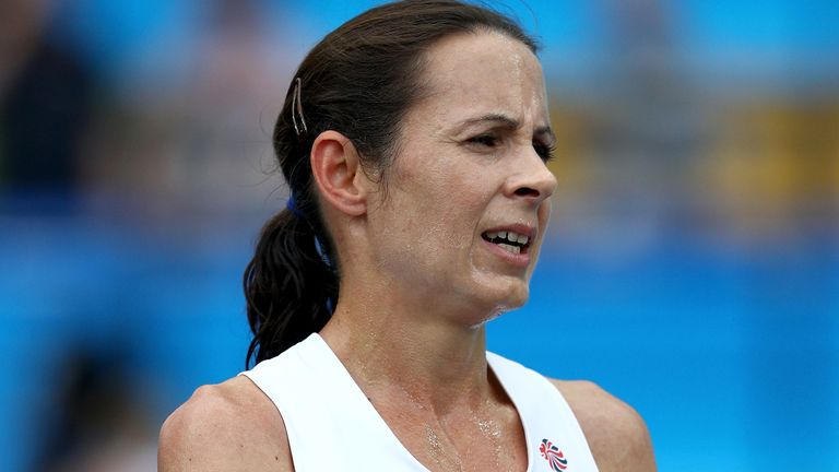 Jo Pavey finished seventh in both the 5,000m and 10,000m at the London Olympics in 2012