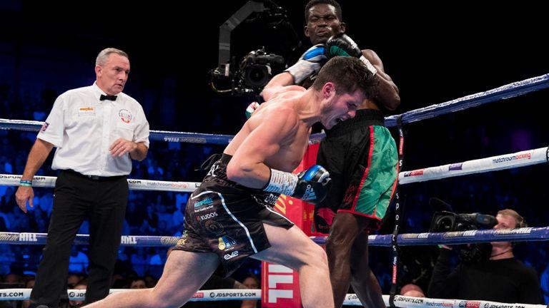 Joe Laws is now unbeaten in nine fights