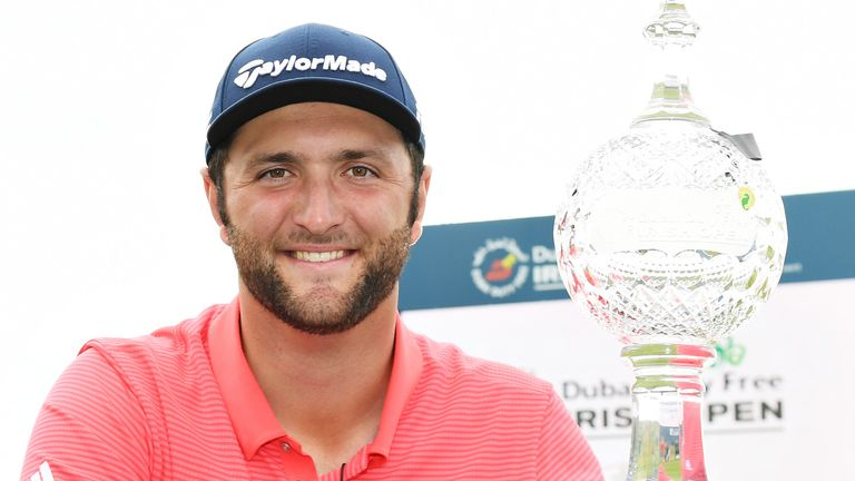 Jon Rahm is a two-time winner of the Irish Open