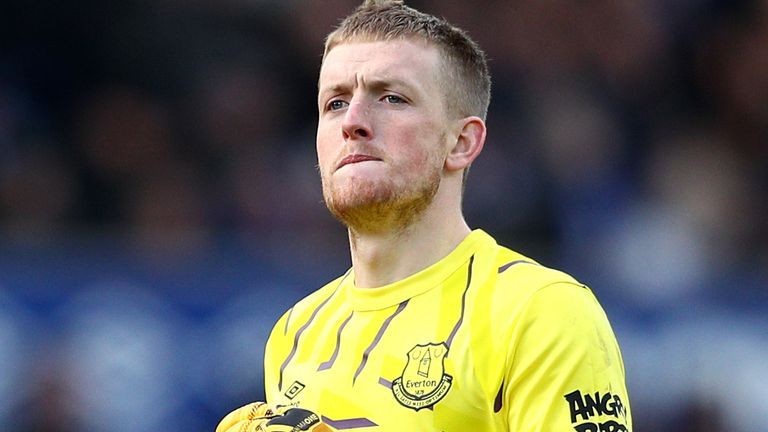 Could Jordan Pickford be on his way out of Goodison Park?