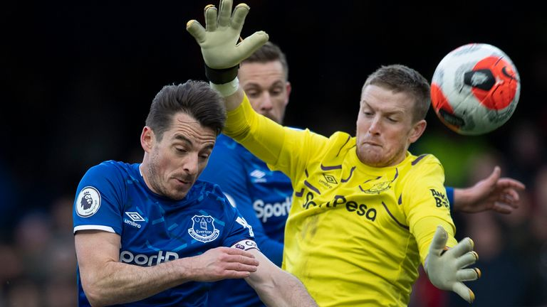 Long-serving full-back Leighton Baines could be in line for a new contract