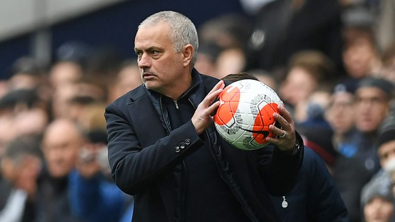 Tottenham are not currently playing Jose Mourinho's sport, insists Paul Merson