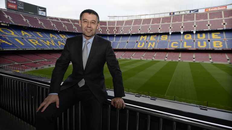 Barcelona president Josep Maria Bartomeu  agreed Messi's last contract in 2017