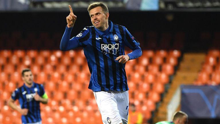 Josip Ilicic scored four for Atalanta in their 4-3 win over Valencia