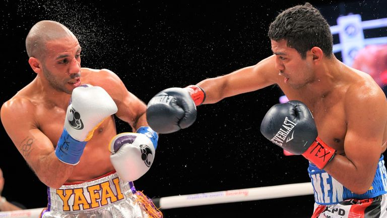 Gonzalez steadily increased the pressure on Yafai