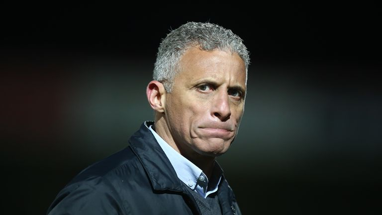 Northampton Town boss Keith Curle says it is vital for the integrity of the game that the season is finished properly at some point.