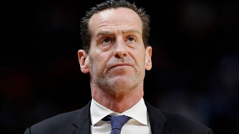 The Brooklyn Nets have sacked head coach Kenny Atkinson