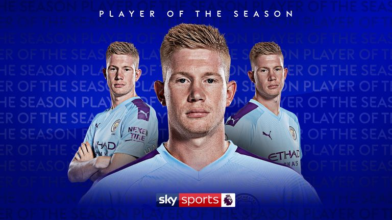 Kevin De Bruyne Player of the Season