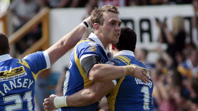 Sinfield made  over 500 appearances for Leeds