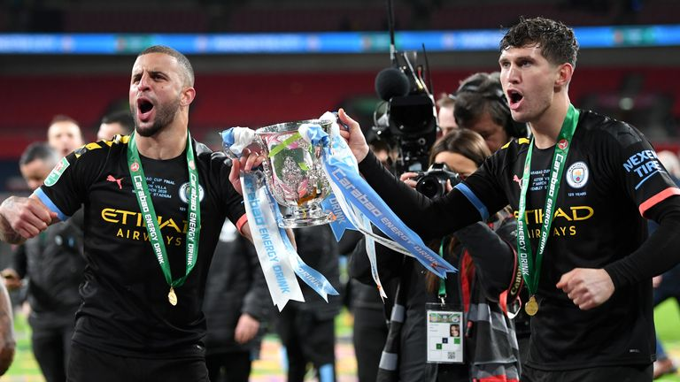 Walker has won eight trophies at Manchester City, but the Champions League still eludes the club