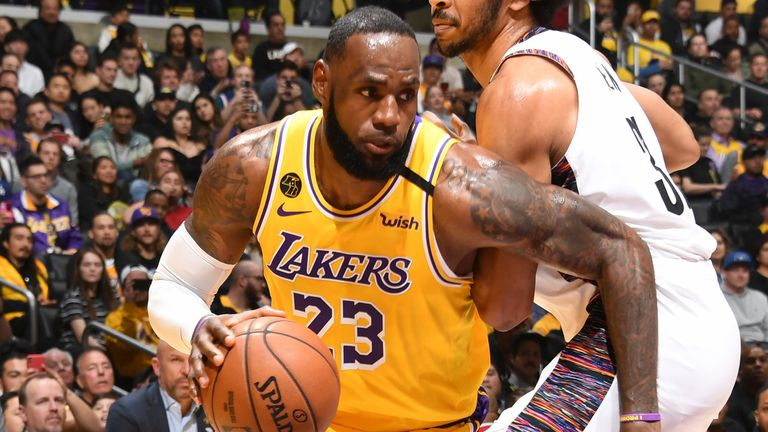 Los Angeles Lakers LeBron James: Los Angeles Lakers star reveals he won't wear social ...