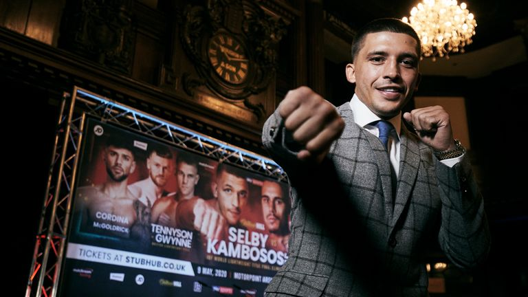 Selby headlines in Cardiff in May in an IBF eliminator