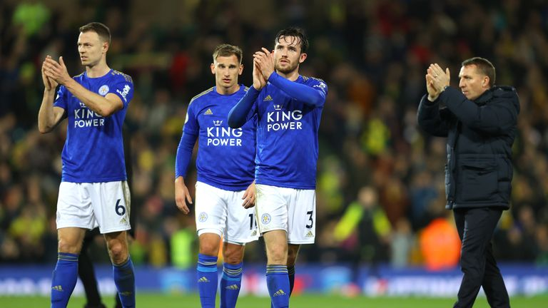 Leicester have helped a local supermarket restock shelves