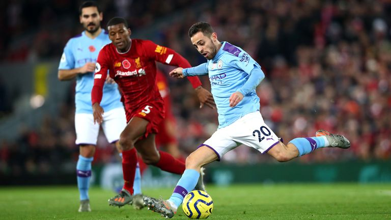 Liverpool were 25 points clear of second-placed Manchester City when the season was put on hold