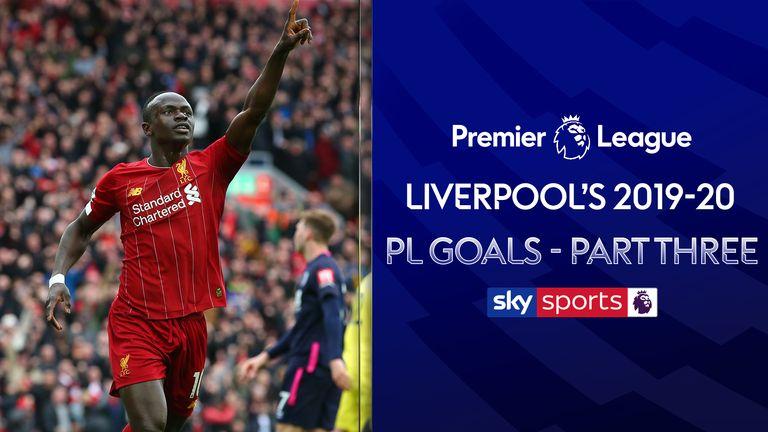 Liverpool's PL Goals 2019-20 Part Three