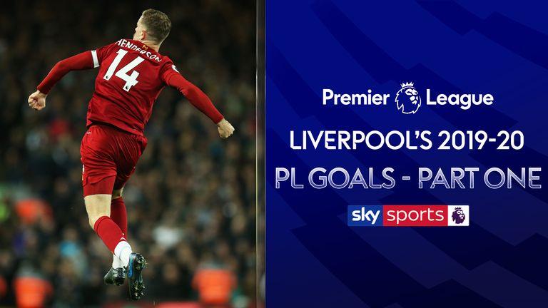Liverpool's 2019-20 PL Goals Part One
